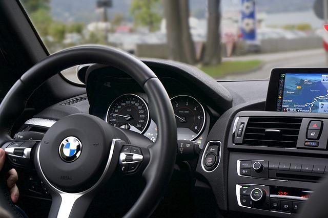 jízda v BMW