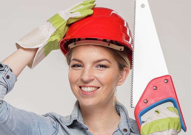 žena v práci