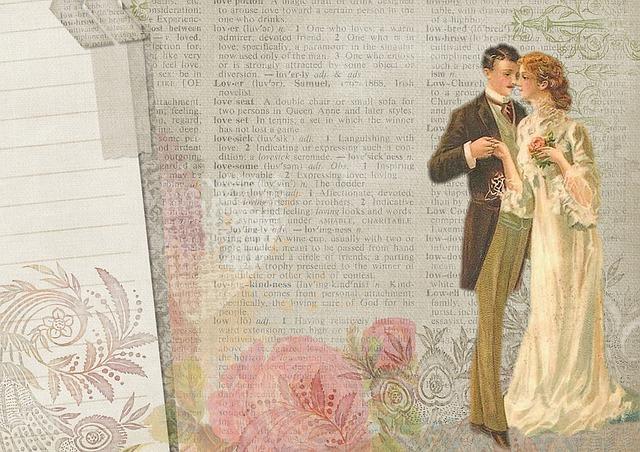 svatba v minulosti