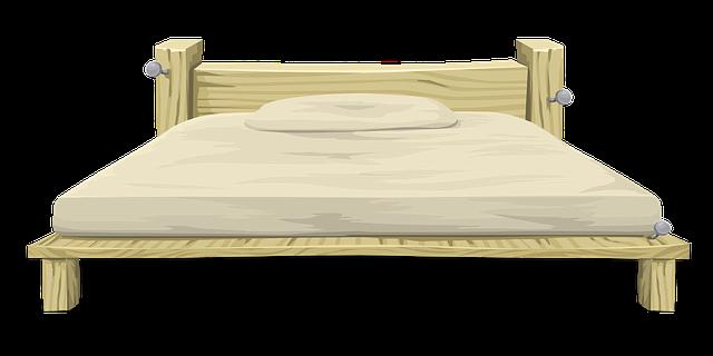 dřevěné postele mají své neobyčejné kouzlo