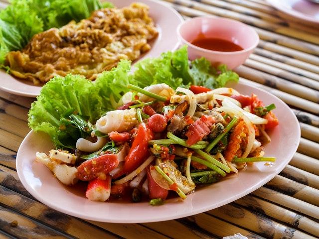 jídlo, asijská kuchyně