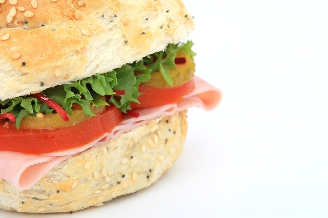 zdravý hamburger